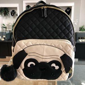 NWT Betsey Johnson Pug Backpack